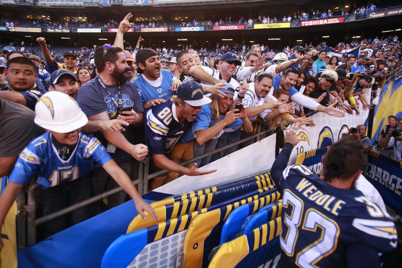 Rams vs. Chargers scene 11/23/14