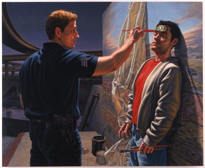 "F. Scott Hess, ""Light,"" 2005, oil on canvas."