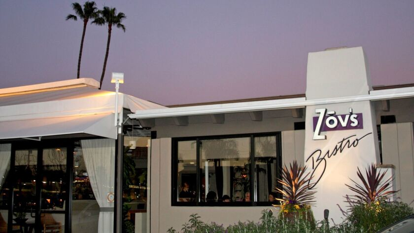 Zov Karamardian turned her popular home catering businesses into a tiny Tustin restaurant in 1987.