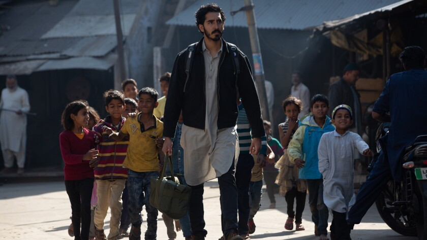 """Dev Patel in the movie """"The Wedding Guest."""""""