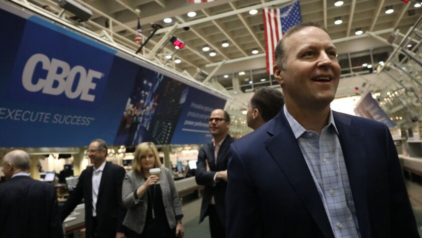 Chris Concannon, president and chief operating officer of CBOE Global Markets, will leave the company next week to pursue another opportunity.
