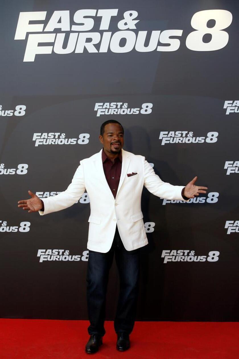 El director F. Gary Gray posa durante un acto de promoción de la película 'Fast&Furious 8'. EFE/Archivo