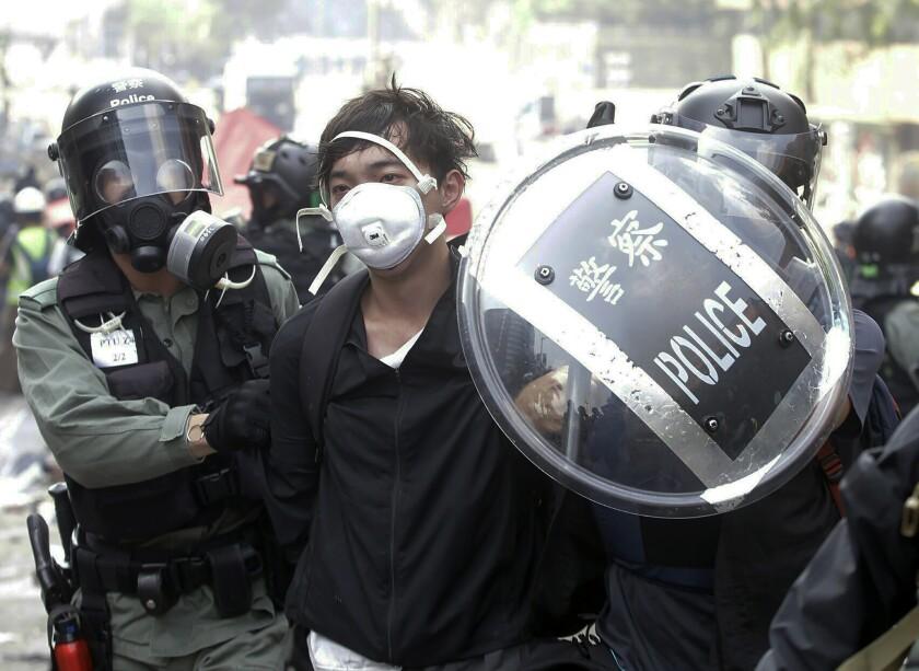 Hong Kong Siege of PolyU Photo Gallery