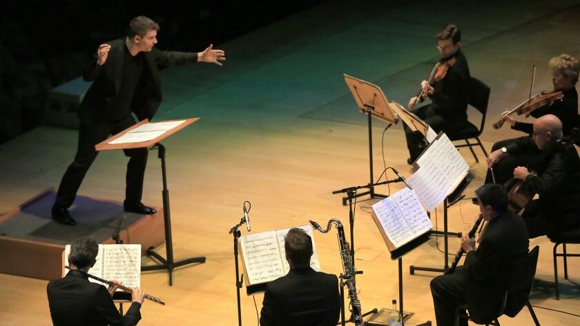 Matthias Pintscher conducts the L.A. Phil New Music Group at Walt Disney Concert Hall.