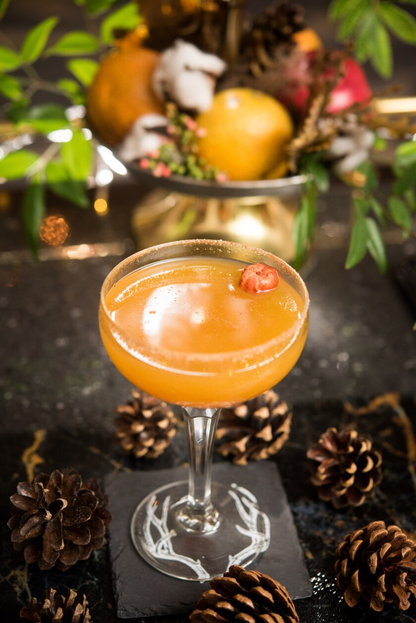 Grant Grill's Smashing Pumpkin Martini was featured on the Food Network's 'Best Thing I Ever Ate'