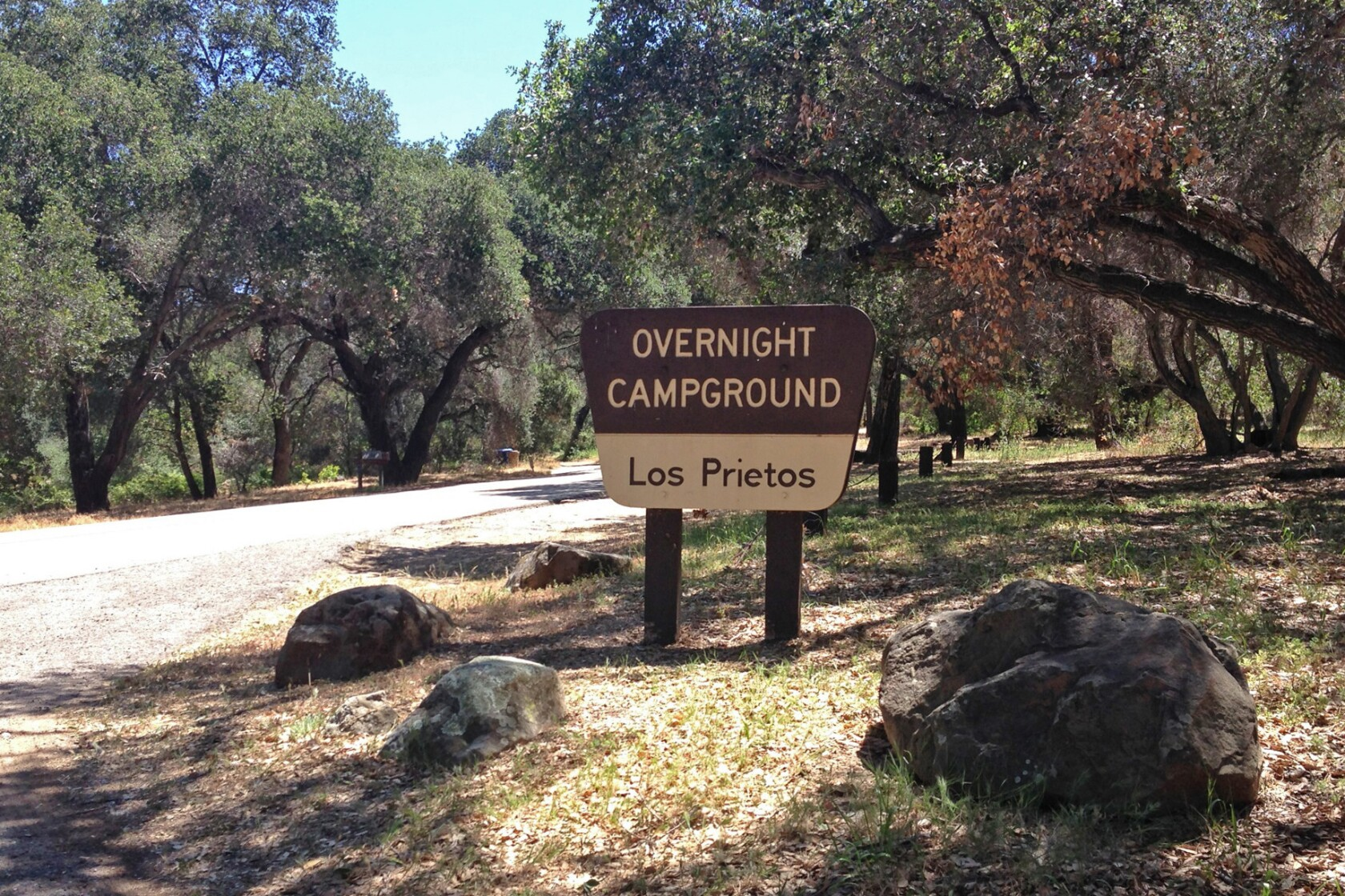 Los Prietos Campground is a pleasant place to rough it - Los