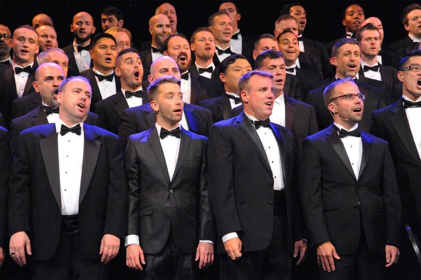 """After three """"Jingle"""" concerts earlier this month at the Balboa Theater, the San Diego Gay Men's Chorus will perform another """"Jingle"""" show Sunday at Sycuan Casino Resort."""