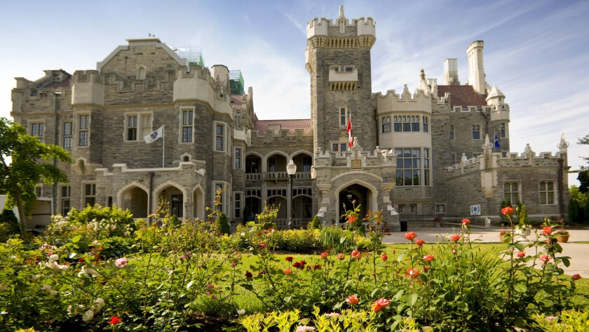 Casa Loma, one of Toronto's historical monuments.