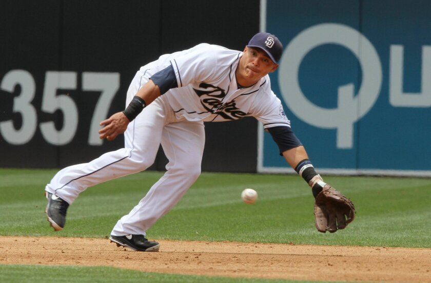 Everth Cabrera was back at shortstop, leading off the Padres' lineup, after coming off the disabled list in time to play the opener of the weekend series at Washington.