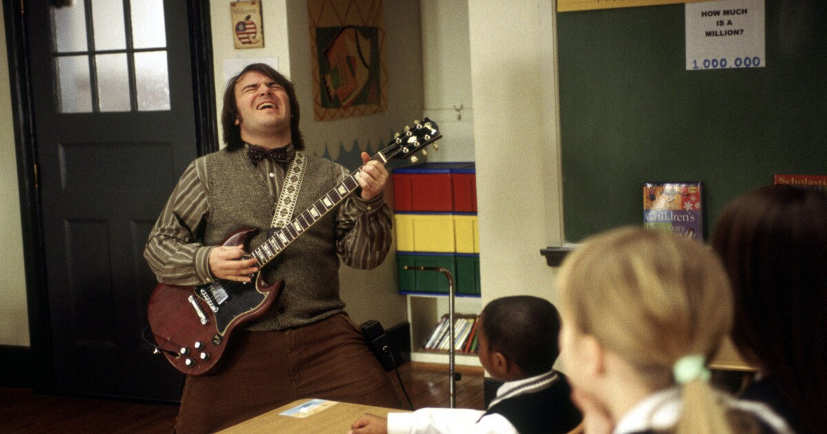 Why this scene from 'School of Rock' went viral on Twitter