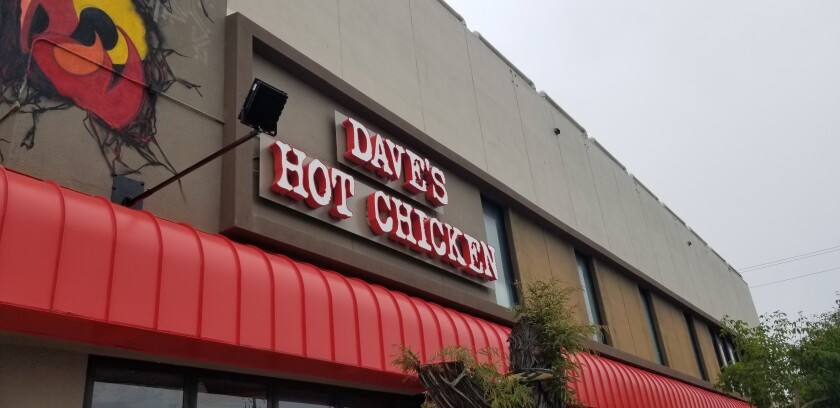 Dave's Hot Chicken is at 1001 Garnet Ave. in Pacific Beach.