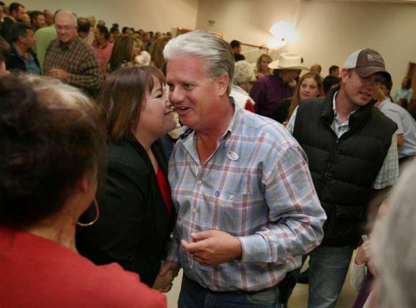 Senator-elect Andy Vidak won a hard-fought campaign over Democrat Leticia Perez, who conceded the race.