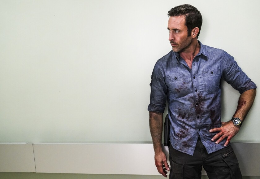 "Alex O'Loughlin in the series finale of ""Hawaii Five-0"" on CBS."