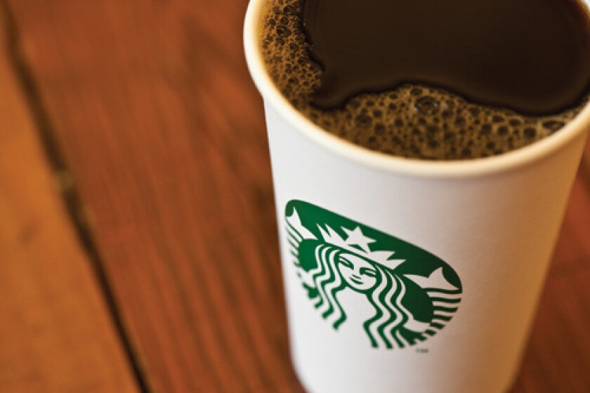 Starbucks to hire 10,000 veterans and spouses in five years