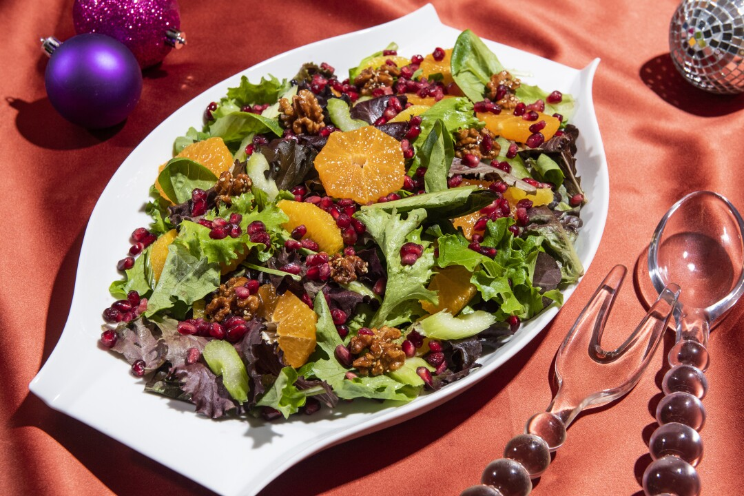 Pomegranate and Citrus Salad