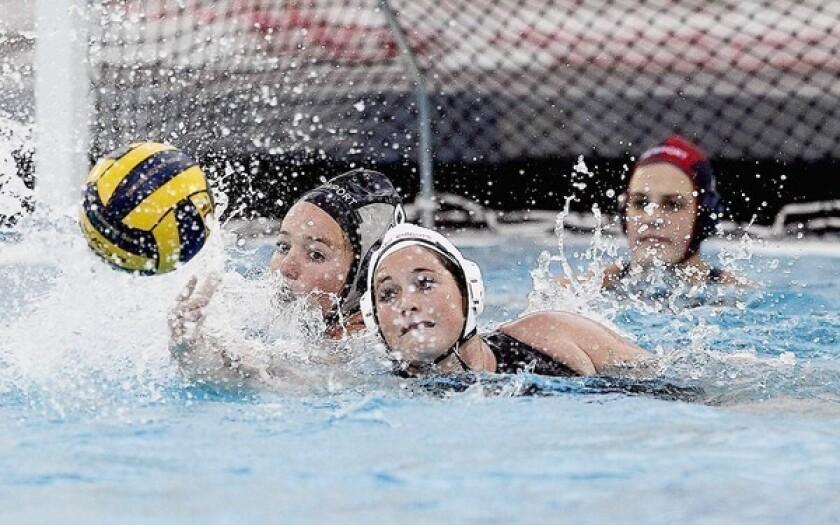 Girls' Water Polo: Newport edged in OT