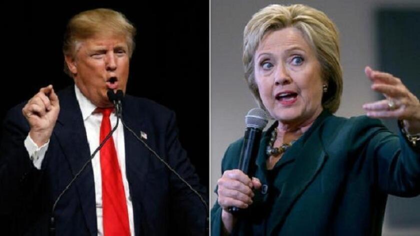 De acuerdo con el sondeo, hecho por la cadena CNN y la empresa ORC del 16 al 19 de junio entre 1.001 adultos, Clinton consigue un respaldo de 47 por ciento, frente al 42 por ciento de Trump.
