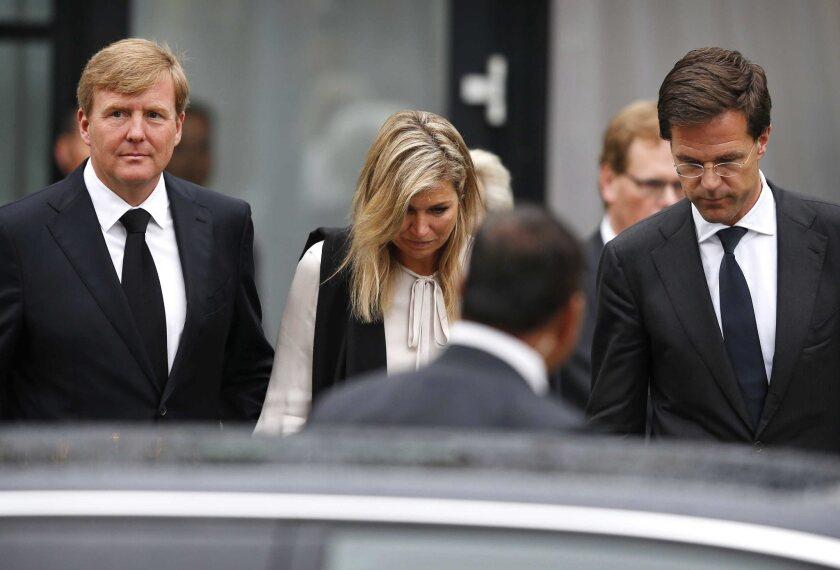 King Willem-Alexander, Queen Maxima, Prime Minister Mark Rutte