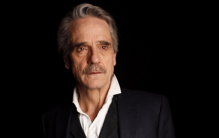 Jeremy Irons at your service as Alfred, a very different butler in 'Batman v Superman'