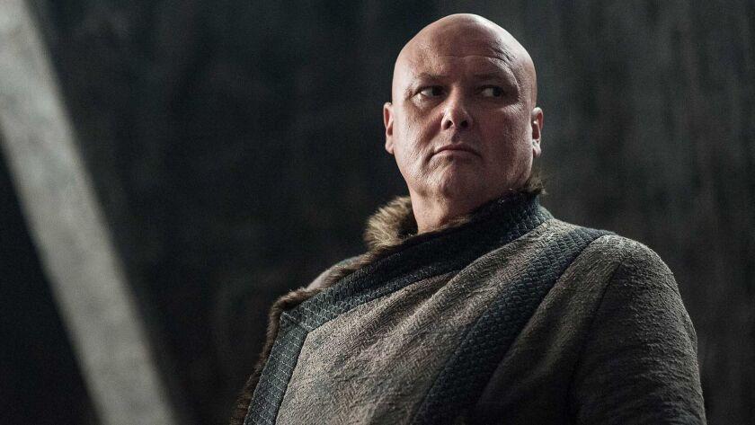 "Conleth Hill as Lord Varys in HBO's ""Game of Thrones."" Season 7 premieres July 16, 2017. Credit: Hel"