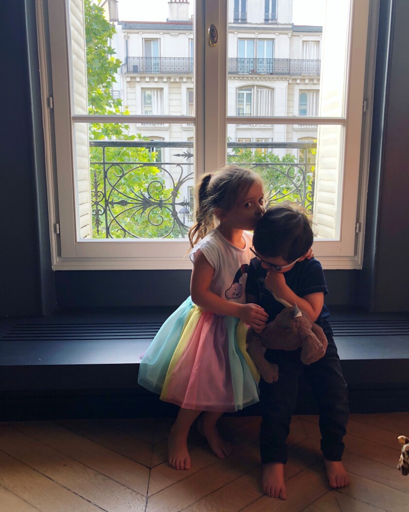 Chloe Steckler and Leo Vauclare