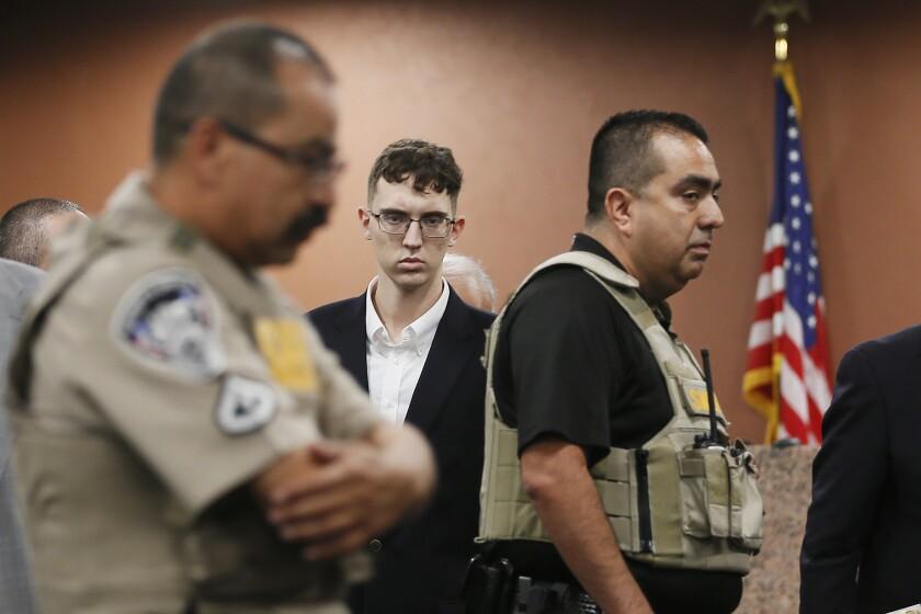 Patrick Crusius, acusado del tiroteo en un Walmart de El Paso, Texas, en agosto de 2019