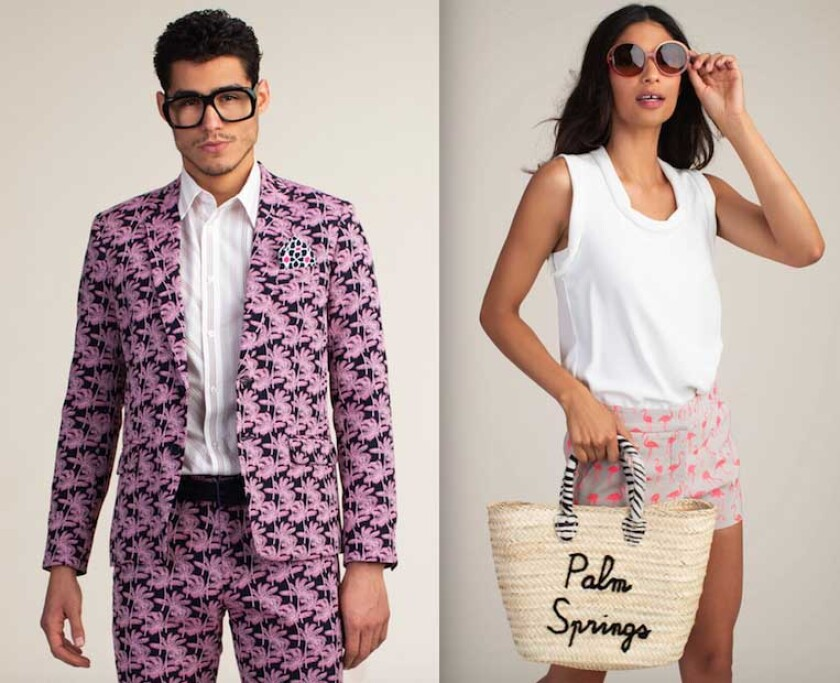 Mr. Turk and Trina Turk's Palm Springs-inspired clothes