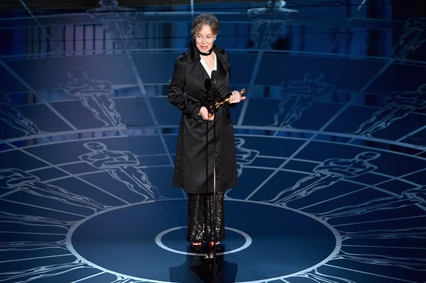 """Milena Canonero wins the costume design Oscar for """"The Grand Budapest Hotel."""""""