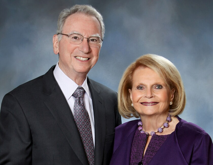 Irwin and Joan Jacobs will receive the inaugural UC San Diego Lifetime Legacy Award on Thursday, Nov. 19.