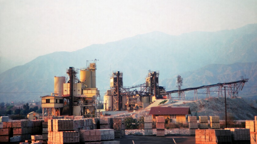 An industrial area around Los Angeles by Frank Gehry