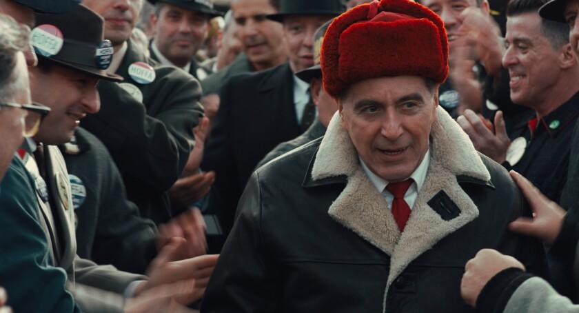 "Al Pacino as Jimmy Hoffa in ""The Irishman."""