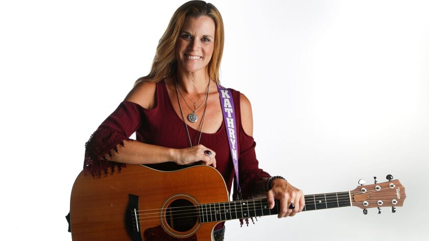 SAN DIEGO, CA: July 6, 2017 | Kathryn Cloward, a local musician with an upcoming July 16th double C