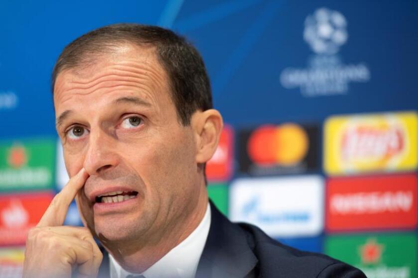 El entrenador de la Juventus, el italiano Massimiliano Allegri. EFE/Archivo