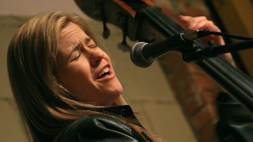 MUSIC---Kristin Korb is not just a singing bassist. She is a premier singer with a personal approach