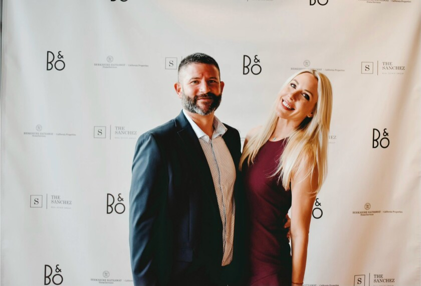 Charlie and Chantal Sanchez from The Sanchez Real Estate Group of Berkshire Hathaway HomeServices California Properties.