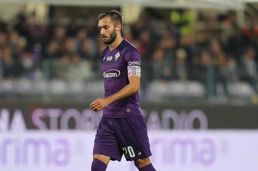 German Pezzella of Fiorentina.