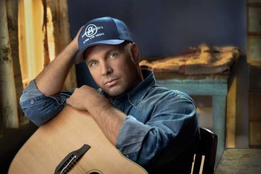 Garth Brooks performs in Las Vegas in a new special on CBS.