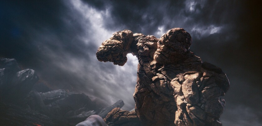 """A scene from """"Fantastic Four."""""""