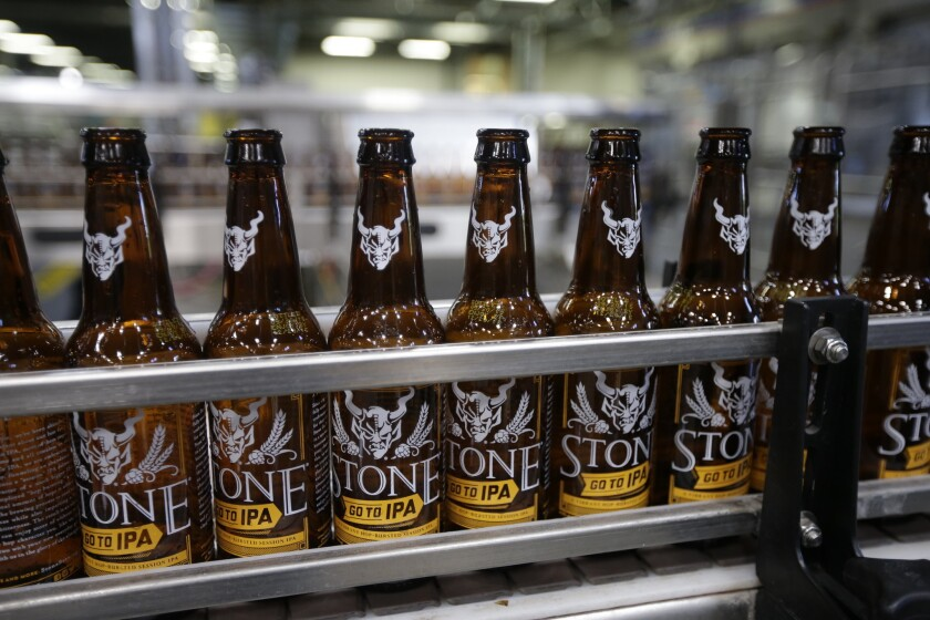 Escondido-based Stone Brewing has named a new CEO.