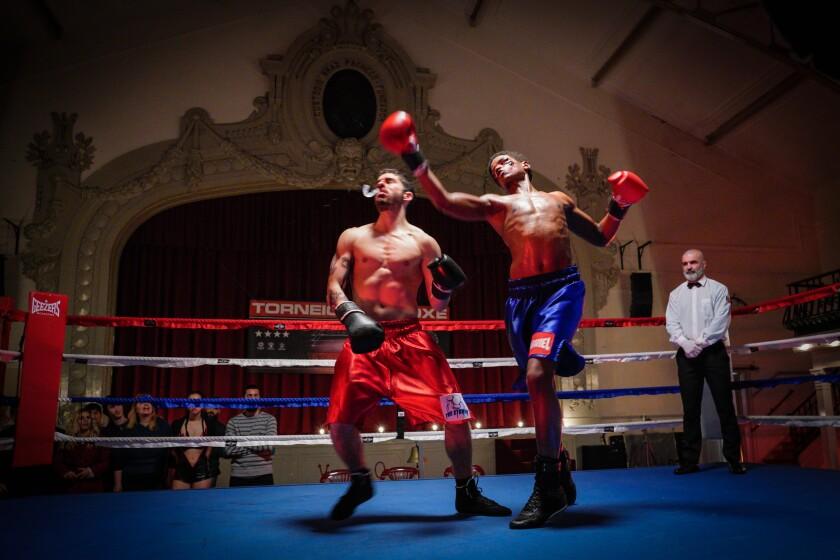 José Condessa and Igor Regalla as boxers in the movie 'Gabriel'