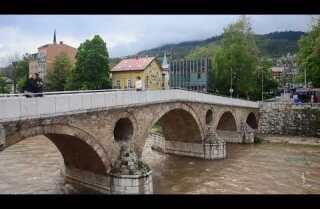 A Minute Away: The Sarajevo bridge where World War I began