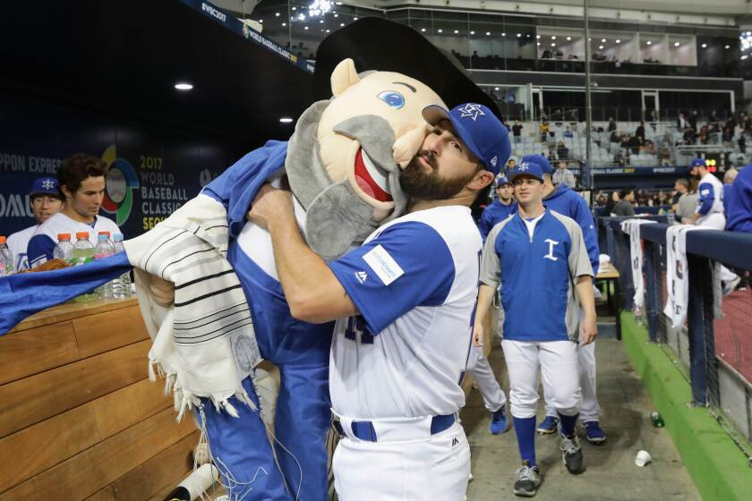 Cody Decker, the Mensch, 'Heading Home: The Tale of Team Israel'