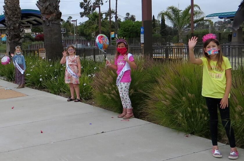 Birthday caravan in Vista