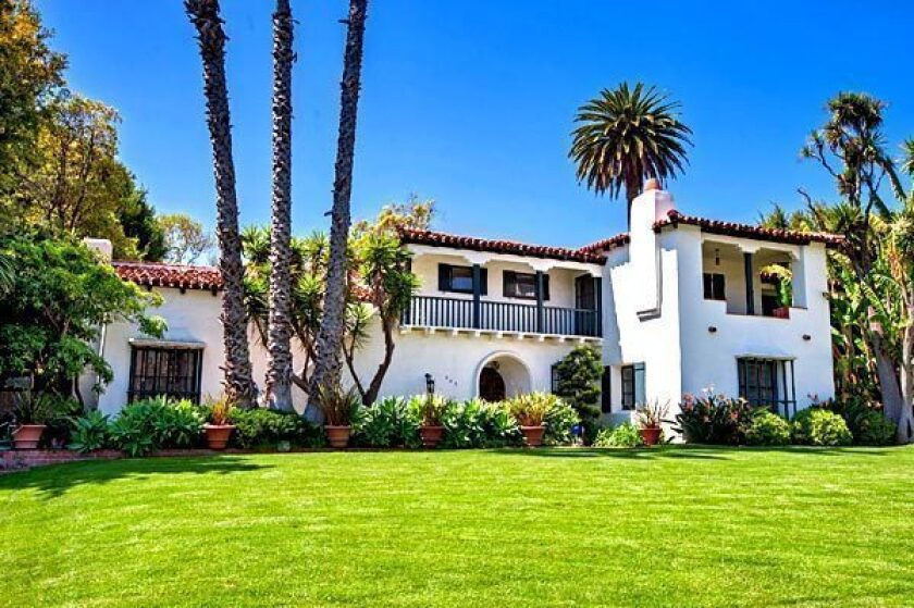 The Wallace Neff-designed classic Spanish-style house in Beverly Hills is listed at $6.995 million.