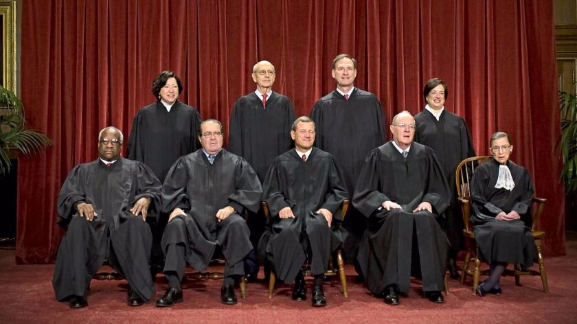 Supreme Court justices' group photo