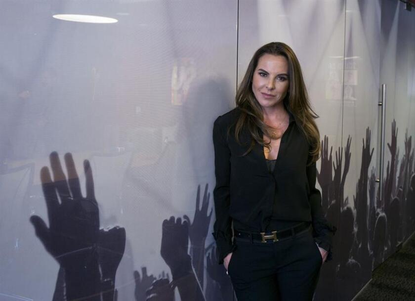 La actriz mexicana Kate del Castillo posa para Efe durante una entrevista el viernes 6 de abril de 2018, en Los Ángeles, California (Estados Unidos). EFE/Archivo