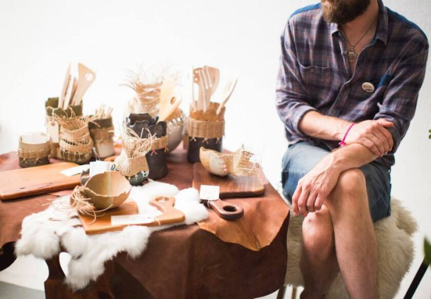 Handmade ceramic planters by TW Workshop will be available at the Echo Park Craft Fair.