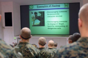 Stopping Marine hazing