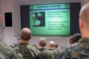 Stopping Marine hazing