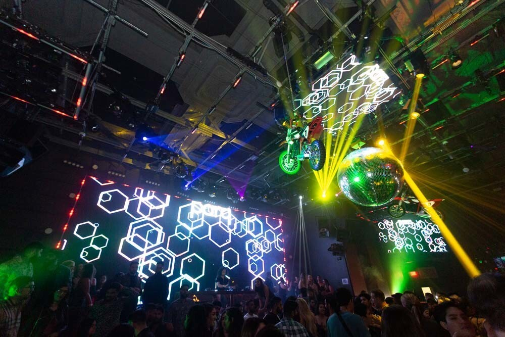 The off-road party continued at the AMA Monster Energy Supercross Afterparty at Parq nightclub on Saturday, Feb. 2, 2019.